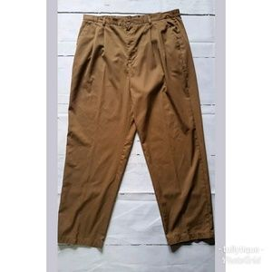 Brown Straight Leg Dressed Pants Size 18WT